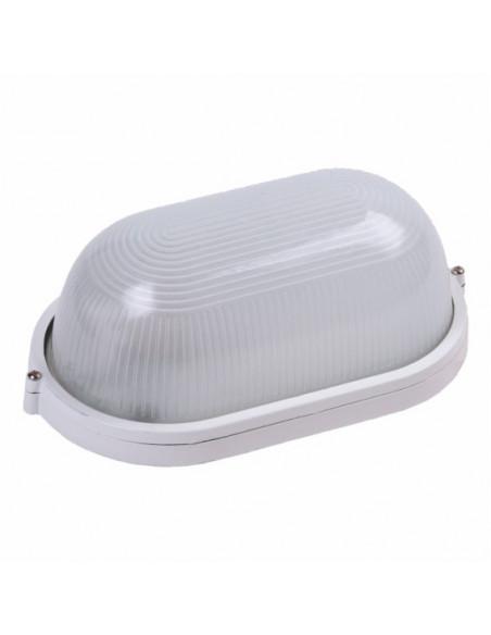 Светильник LED (ЖКХ) овальный 9W 5000K 220V белый