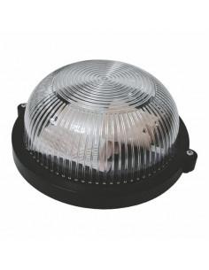Светильник Ecostrum НПП-65 круг черный прозрачный ПП-1002-10-0/6