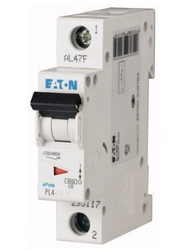 Автоматический выключатель PL4 1Р C 32А Eaton