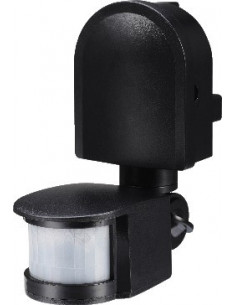 Датчик движения E.Next e.sensor.pir.13 черный 270град IP44
