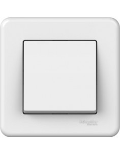 Выключатель Schneider Electric Leona 1кл белый LNA0100321