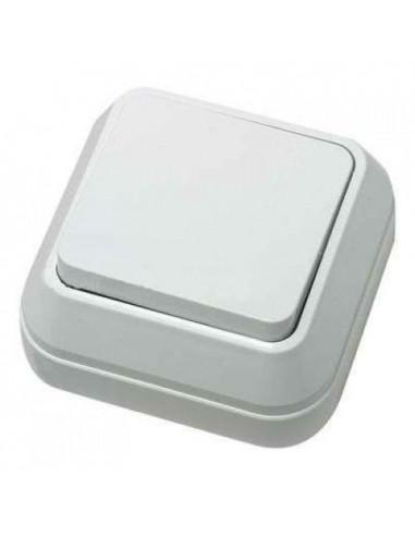 Выключатель Makel 1кл накладной белый