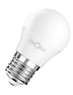 Светодиодная LED лампа Biom BT-584 G45 9w E27 4500K матовая