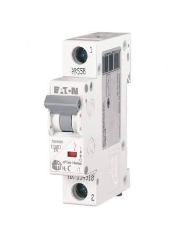 Автоматический выключатель HL C 1P 16A Eaton