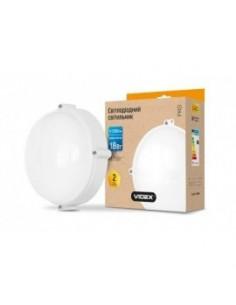 Светильник LED (ЖКХ) круглый Videx 18w 5000K белый