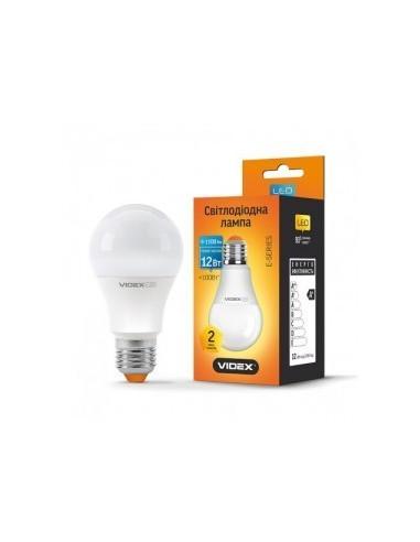 Светодиодная LED лампа Videx A60е 12w E27 3000K