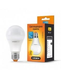 Светодиодная LED лампа Videx A60е 7w E27 4100K