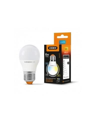 LED лампа с регулировкой цветности Videx 6w E27