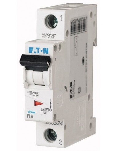 Автоматический выключатель PL6 1Р C 40А Eaton