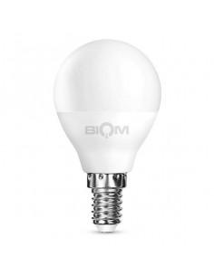 Светодиодная LED лампа Biom BT-565 G45 7W E14 3000К матовая
