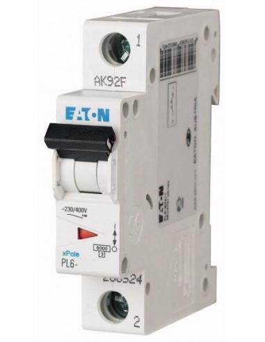 Автоматический выключатель PL6 1Р C 63А Eaton