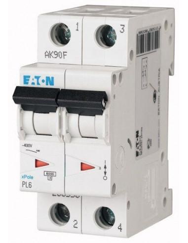 Автоматический выключатель PL6 2Р С 50А Eaton