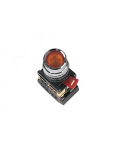 Кнопка ABLFS-22 красная d22 240В IEK