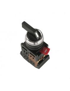Переключатель АLС-22 чорный на 2 фиксир. положения I-O 1з+1р ІЕК