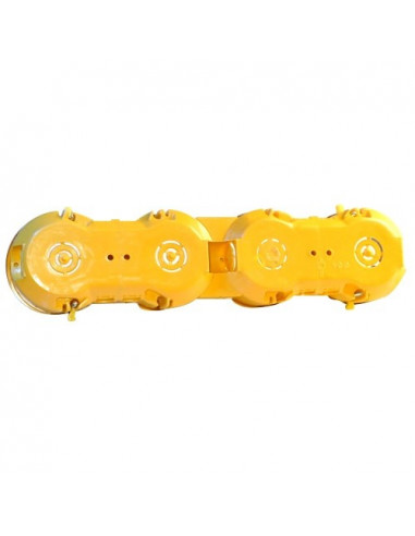 Коробка установочная KME-5 гипс Альянс желтая