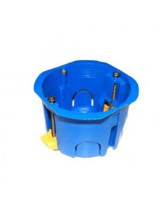 Коробка стиковочная гипс d68мм с пластиковыми лапками КОВА
