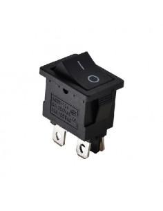 Переключатель 1кл чорный КСD1-116
