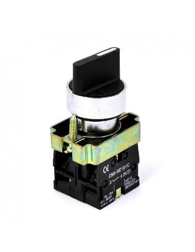 Кнопка поворотная 3-х поз (стандарт. ручка) XB2-BD33