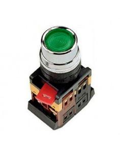 Кнопка ABLFS-22 зеленая d22 240В IEK