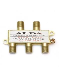 """Сплиттер для антенного кабеля А-4 """"alda"""" с гайкой"""