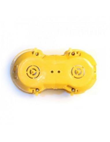 Коробка установочная KME-2 гипс Альянс желтая