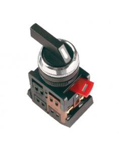 Переключатель АLСLR-22 чорный на 3 фиксир. положения I-O-II
