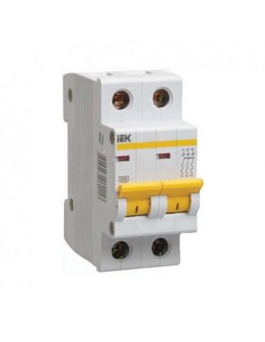 Автоматический выключатель ВА47-29 2Р 6А (4.5кА) С IEK