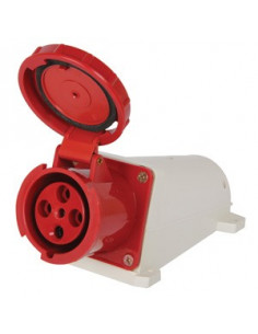 Силовая розетка стационарная e.socket.pro.4 4п 380В 32А E.Next