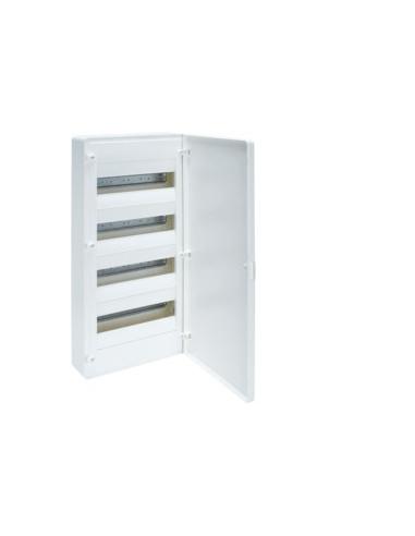 Щит распределительный 48 мод (4х12) наружный с белыми дверками