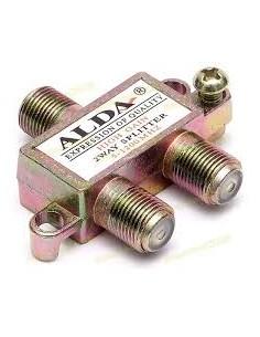 """Сплиттер для антенного кабеля А-2 """"alda"""" с гайкой"""