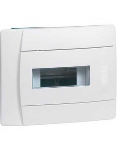 Щиток 6 мод встраиваемый с белыми дверцами IP 40 IK 07 Legrand