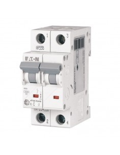 Автоматический выключатель HL C 2P 16A Eaton