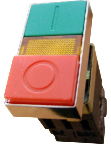 Кнопка двойная с подсветкой Старт/Стоп XB2-BW8375