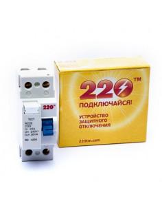 Устройство защитного отключения ПЗВ-2 40А/0.03А 2Р ТМ 220