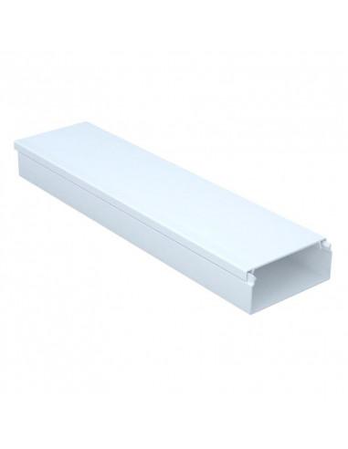 Кабельный канал Sokol 40х16 (80) Standard белый цена за 1 м.пог