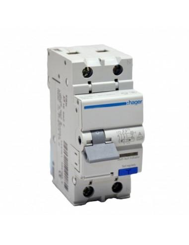 Устройство защитного отключения Hager 2P АD960J С 10A 30mA (6kA)
