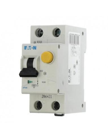 Устройство защитного отключения PFL6 1P+N C 10А 0.03 Eaton