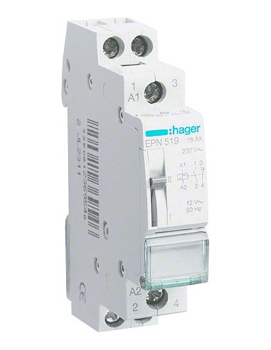 Импульсное реле Hager EPN520 16A 2HB 230В