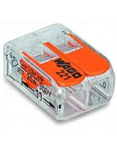 Клема WAGO 2-конт д/распред коробок, универсальная, 0,2-4 мм2