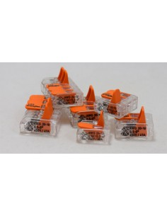 Клемма WAGO 2-конт д/распред коробок, универсальная, 0,5-6 мм2
