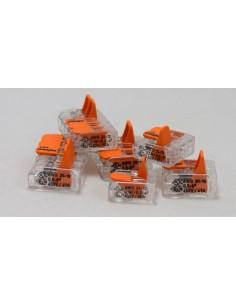 Клемма WAGO 3-конт д/распред коробок, универсальная, 0,5-6 мм2
