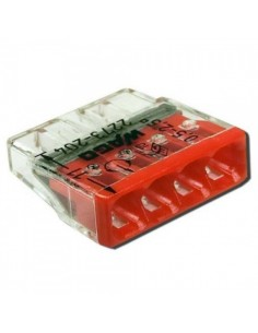 Клемма WAGO COMPACT для распред коробок 4x2,5