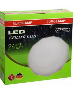 Светильник светодиодный Eurolamp 24 Вт белый матовый 4000К