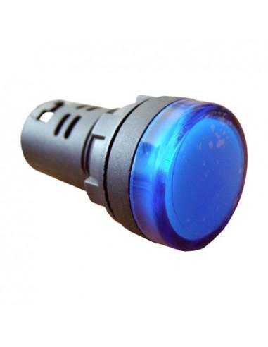 Сигнальна арматура синяя AD22-22DS 220В AC