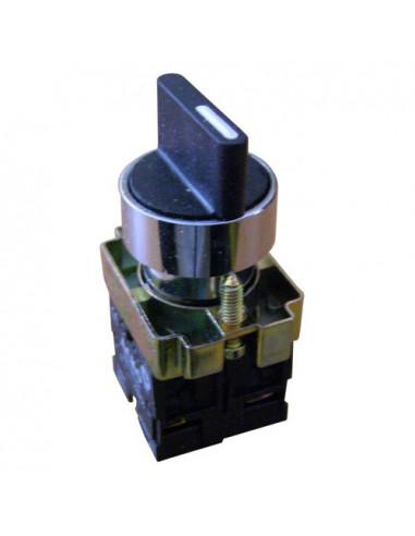 Кнопка поворотная 2-х поз (стандарт. ручка) XB2-BD21