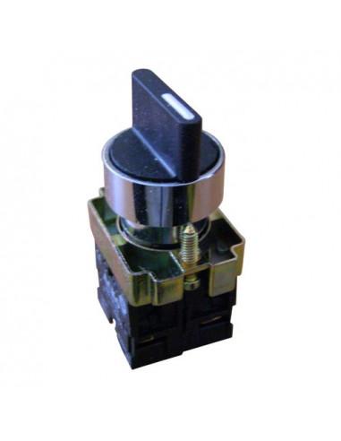 Кнопка поворотная 3-х поз (стандарт.руч.) XB2-ВD33