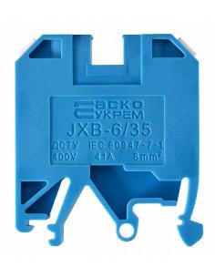 Клеммник JXB-6/35 синий