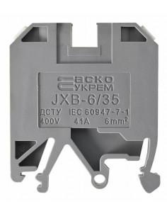Клеммник JXB-6/35 серый