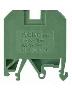 Клеммник JXB-10/35 зеленый