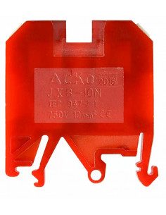 Клеммник JXB-10/35 красный